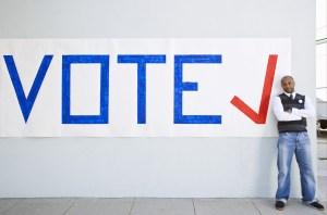 vote sign