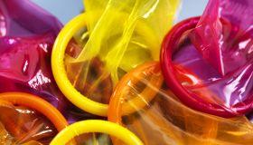 Colored Condoms