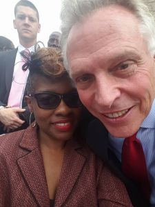 GOVERNOR MCAULIFFE GRANTS RIGHTS OF 206,000 FELONS