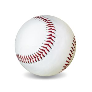 baseball on white