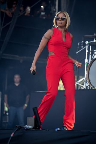 Mary J Blige Performs At New Look Wireless Festival In London