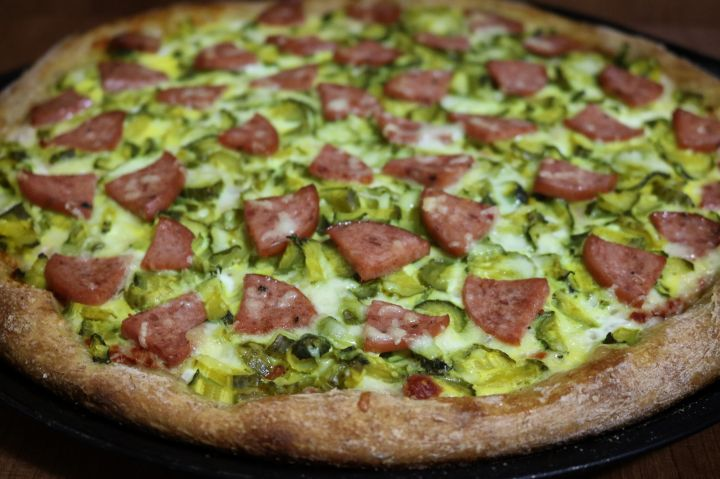 Homemade Italian Rustic Pizza