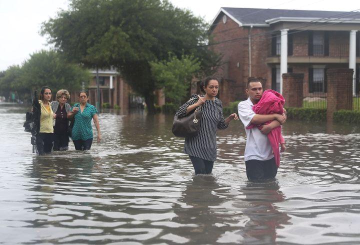 Hurricane Harvey Slams Into Texas Gulf Coast
