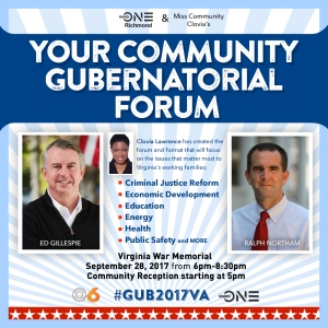 Gubernatorial Forum