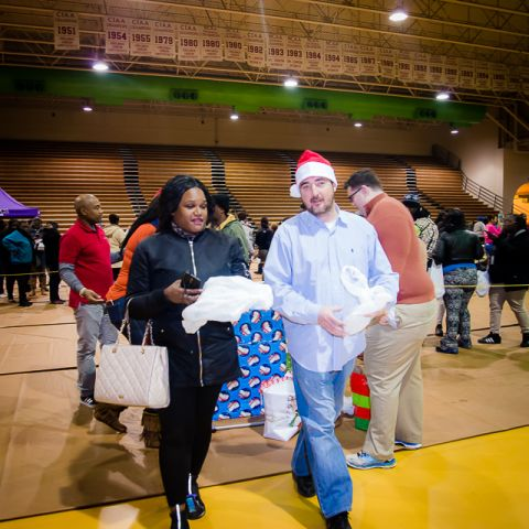 Toy Drive Distribution Day