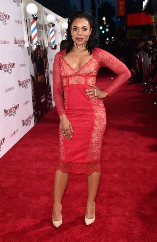Premiere Of New Line Cinema's 'Barbershop: The Next Cut' - Red Carpet