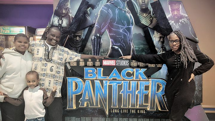 Black Panther Premiere – Radio One Richmond
