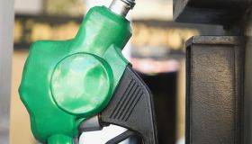 Close-up of a gas pump nozzle, Delhi, India