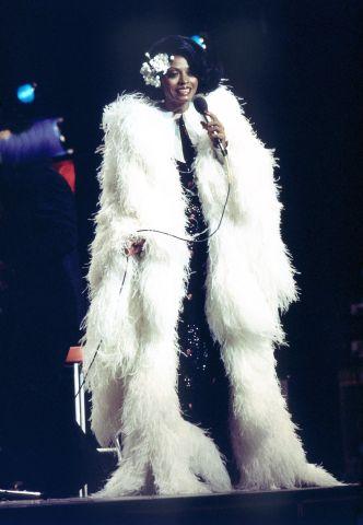 Diana Ross In Copenhagen