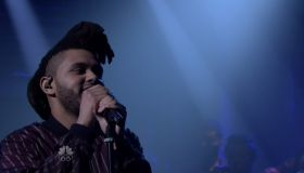 The Weeknd and Lauryn Hill during an appearance on NBC's 'The Tonight Show Starring Jimmy Fallon.'