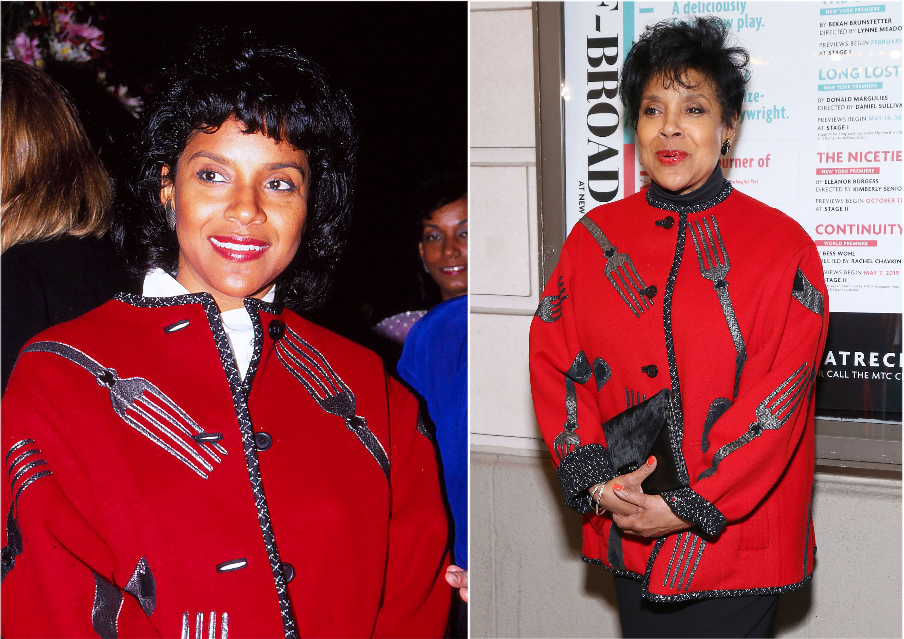 Phylicia Rashad wore this coat in 1990 and also in 2019