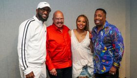 Rickey Smiley, Tom Joyner, Eva Marcille & Gary Wit Da Tea
