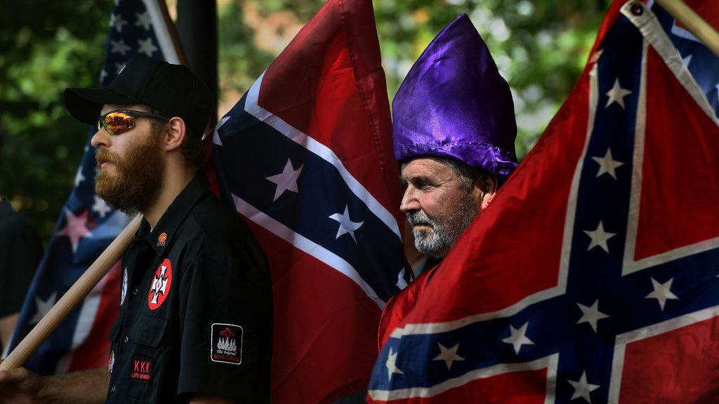 North Carolina Klan Group Protests Civil War Memorial Changes