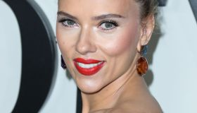 Actress Scarlett Johansson wearing Louis Vuitton with Taffin jewelry arrives at the Los Angeles Premiere Of Netflix's 'Marriage Story' held at the Directors Guild of America Theater on November 5, 2019 in West Hollywood, Los Angeles, California, United St