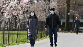 Daily Life In New York City Amid Coronavirus Outbreak