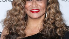 Businesswoman Tina Knowles-Lawson arrives at the Beautycon Festival Los Angeles 2019 - Day 1 held at the Los Angeles Convention Center on August 10, 2019 in Los Angeles, California, United States.