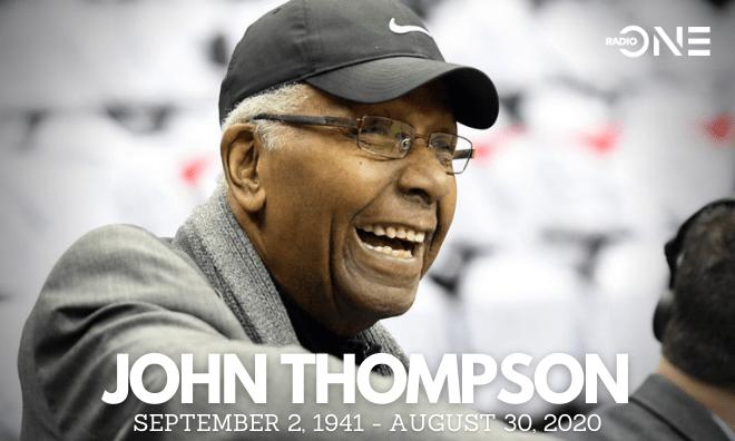 John Thompson Tribute Graphic