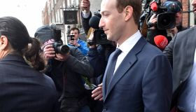 Mark Zuckerberg meets with Irish Ministers at The Merrion Hotel