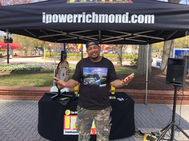 Throwback Cam Cooper Radio One Richmond 2021